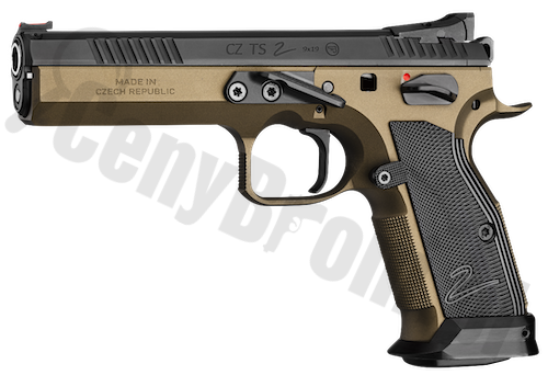 CZ Tactical Sport 2 Deep Bronze