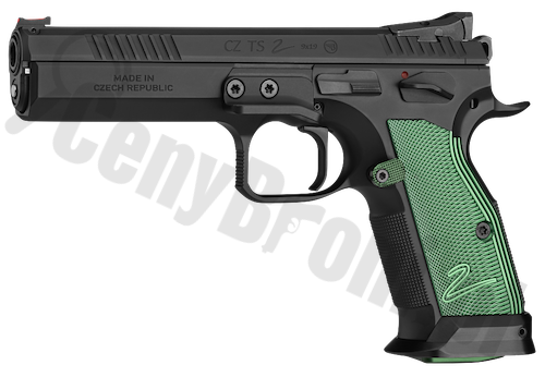 CZ Tactical Sport 2 Racing Green