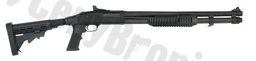 Mossberg 590-A1 Tactical Tri-Rail Adjustable (53693)